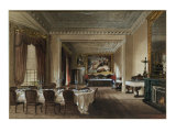The Dining Room, Osborne House, 1851 Premium Giclee Print by James Roberts