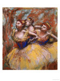 Three Dancers, circa 1896 Prints by Edgar Degas