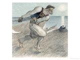 The Big Reaper Reproduction procédé giclée par Théophile Alexandre Steinlen