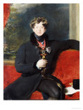Portrait of King George IV, circa 1825 Art by Thomas Lawrence