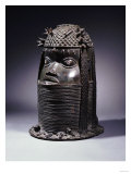 A Benin Bronze Head, circa Before 1810 Giclee Print