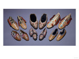 A Selection of American Indian Moccasins Prints