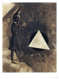 Souci d'Absolu... Philosophe Prints by Odilon Redon