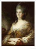 Portrait of a Lady, Said to Be Elizabeth Chudleigh, Countess of Bristol Posters by Thomas Gainsborough