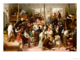 The Auction, 1863 Giclee Print by John Morgan