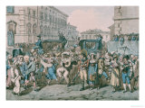 Carnevale a Roma, 1816 Posters by Bartolomeo Pinelli