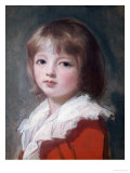 Portrait of a Boy Giclee Print by George Romney