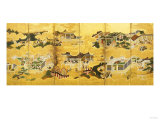 Various Scenes of the Tale of Genji, 17th/18th Century Giclee Print