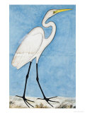 A Great Egret, Lucknow School, circa 1790 Giclee Print