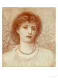 Portrait of a Lady, Bust Length Giclee Print by Alice May Chambers