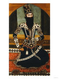 Portrait of Fath Ali Shah Qajar Giclee Print