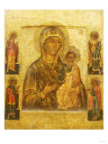 Mother of God Smolenskaia, Possibly Novgorod School, 17th Century Giclee Print