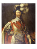 Portrait of King Charles I Posters by Daniel Mytens