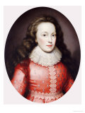 Portrait of a Lady Called Alathea, Countess of Arundel, 1619 Giclee Print by Cornelius Johnson