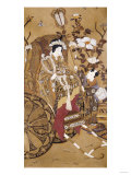 The Royal Mother of the West in Her Chariot, Meiji Period 1863-1912 Giclee Print