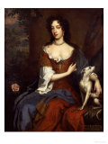 Portrait of Mary of Modena, Queen of James II, circa 1656-1687 Giclee Print by William Wissing