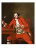 Portrait of a Gentleman Reproduction procédé giclée par George Knapton
