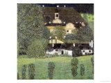 Schloss Kammer Am Attersee II, 1909 Giclée-Druck von Gustav Klimt