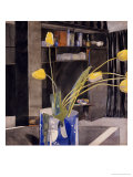 Yellow Tulips Print by Charles Rennie Mackintosh