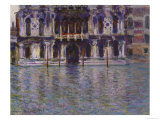 The Contarini Palace, 1908 Giclée-Druck von Claude Monet