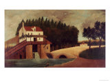 The Mill, circa 1896 Giclee Print by Henri Rousseau