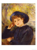 Portrait of Madamoiselle Demarsy, 1882 Prints by Pierre-Auguste Renoir