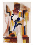 Study of a Bright Shop Window, 1913 Giclee Print by Auguste Macke