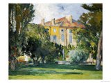 The House at Jas de Bouffan, 1882- 1885 Giclee Print by Paul Cézanne