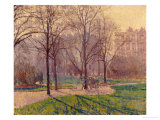The Avenue Giclee Print by Spencer Frederick Gore