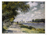 The Seine at Argenteuil, 1875 Print by Claude Monet