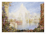 Fairyland Castle Giclee Print by Tom Mostyn