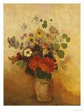 Blumenvase Kunstdrucke von Odilon Redon