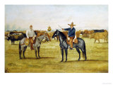 Cortame Al Toro Pinto, 1912 Giclee Print by Ernesto Icaza