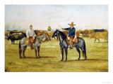 Cortame Al Toro Pinto, 1912 Giclee Print by Ernesto Icaza