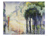 Rio San Trovaso, Venice, circa 1904 Prints by Henri Edmond Cross