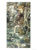 Water Lilies, 1901 Giclee Print by Edward Atkinson Hornel