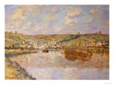 End of the Afternoon, Vetheuil Poster by Claude Monet