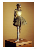 The Little Fourteen Year Old Dancer, Cast 1921 Giclee Print by Edgar Degas