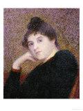 Portrait de Femme Poster av Hippolyte Petitjean
