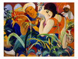 Eastern Women, 1912 Giclee Print by Auguste Macke