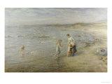 Paddling, 1901 Giclee Print by Hugh Cameron