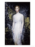 Portrait of a Lady Giclee Print by Ambrose Mcevoy