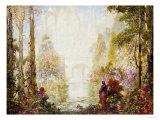 Sita's Garden II Giclee Print by Tom Mostyn