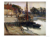 A Cornish Fishing Village, 1900 Giclee Print by Edward Reginald Frampton