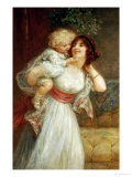 Mother's Darling Giclee Print by Frederick Morgan