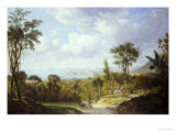 General View of Panama, 1852 Premium Giclee Print by Ernest Charton