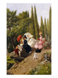 Summer Afternoon Giclee Print by Ignace Spiridon
