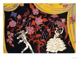 The Flamenco Giclee Print by Georges Barbier