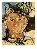 Portrait de Picasso, 1915 Giclée-tryk af Amedeo Modigliani