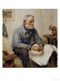 A Moment's Rest Prints by Walter Langley